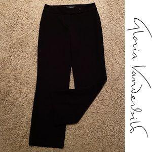 Gloria Vanderbilt Black Dress Pants Size 8